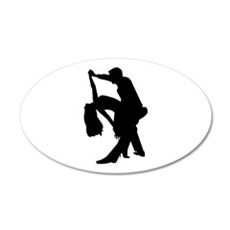 Dancing couple Wall Decal