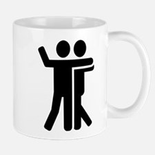 Dancing couple symbol Mug