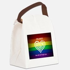 ORLANDO WE WILL NOT FORGET YOU Canvas Lunch Bag