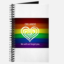 ORLANDO WE WILL NOT FORGET YOU Journal