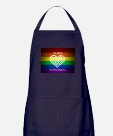 ORLANDO WE WILL NOT FORGET YOU Apron (dark)