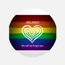 ORLANDO WE WILL NOT FORGET YOU Button