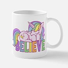 Unicorn Believe Mugs