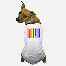 Washington DC Gay Pride Rainbow Cityscape Dog T-Sh