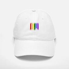 St Louis Gay Pride Rainbow Cityscape Baseball Baseball Baseball Cap