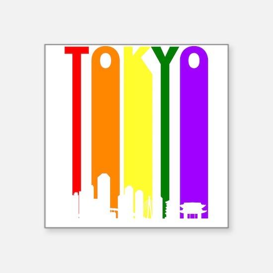 Tokyo Gay Pride Rainbow Cityscape Sticker
