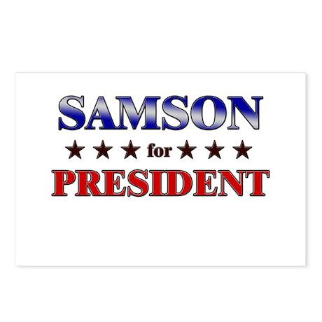 SAMSON for president Postcards (Package of 8)