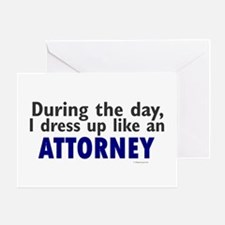 Dress Up Like An Attorney Greeting Card