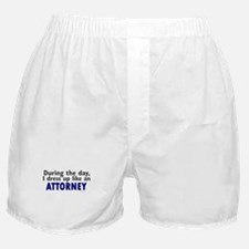 Dress Up Like An Attorney Boxer Shorts