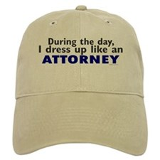 Dress Up Like An Attorney Baseball Cap