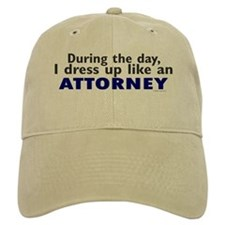 Dress Up Like An Attorney Baseball Cap