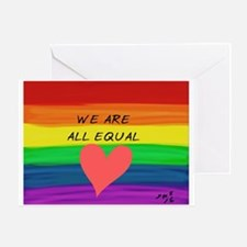 Unique Equal rights Greeting Card