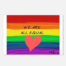 Unique Equal rights Postcards (Package of 8)
