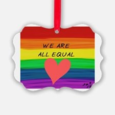 Funny Equality Ornament