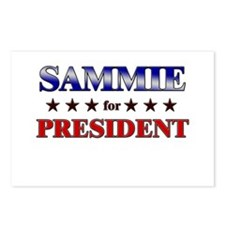 SAMMIE for president Postcards (Package of 8)