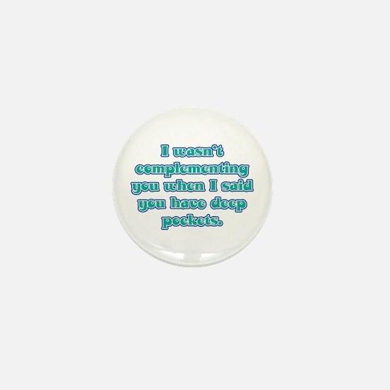 Dental Hygienist Presents Mini Button