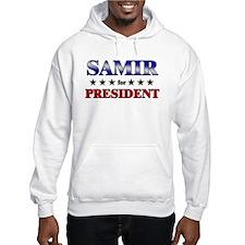 SAMIR for president Hoodie