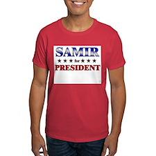 SAMIR for president T-Shirt