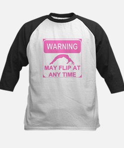 Warning may flip Gymnastics Baseball Jersey