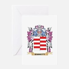 Barrett Coat of Arms (Family Crest) Greeting Cards