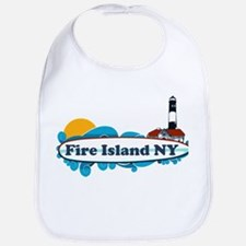 Cute Fire island Bib