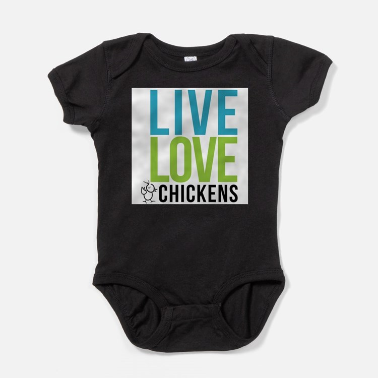 Cute I love ham and eggs Baby Bodysuit