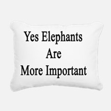 Unique Elephant lover Rectangular Canvas Pillow