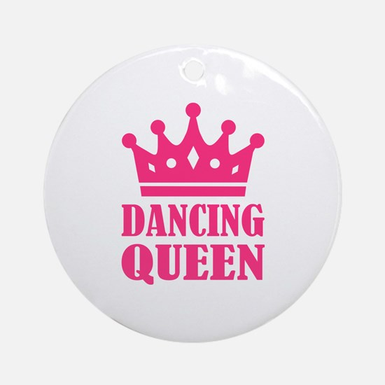 Dancing queen Round Ornament