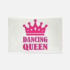Dancing queen Rectangle Magnet