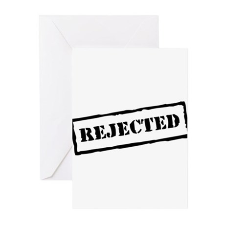 Rejected Greeting Cards (Pk of 10)