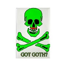 Got Goth Rectangle Magnet
