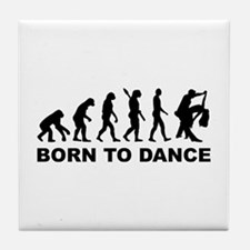 Evolution dancing born to dance Tile Coaster