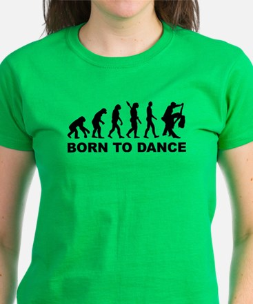 Evolution dancing born to dan Tee