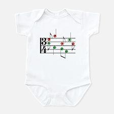 Christmas Music Infant Bodysuit