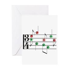 Christmas Music Greeting Card