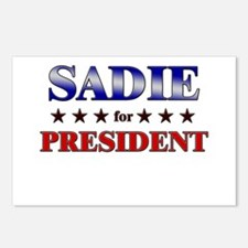 SADIE for president Postcards (Package of 8)