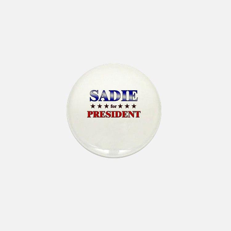 SADIE for president Mini Button