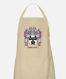 Bartlett Coat of Arms (Family Crest) Apron