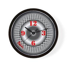 Wall Clock<br>B&W OPTICAL ART