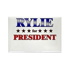 RYLIE for president Rectangle Magnet