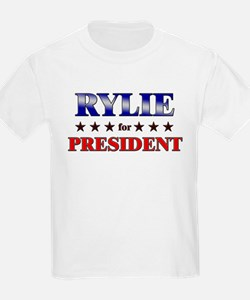 RYLIE for president T-Shirt
