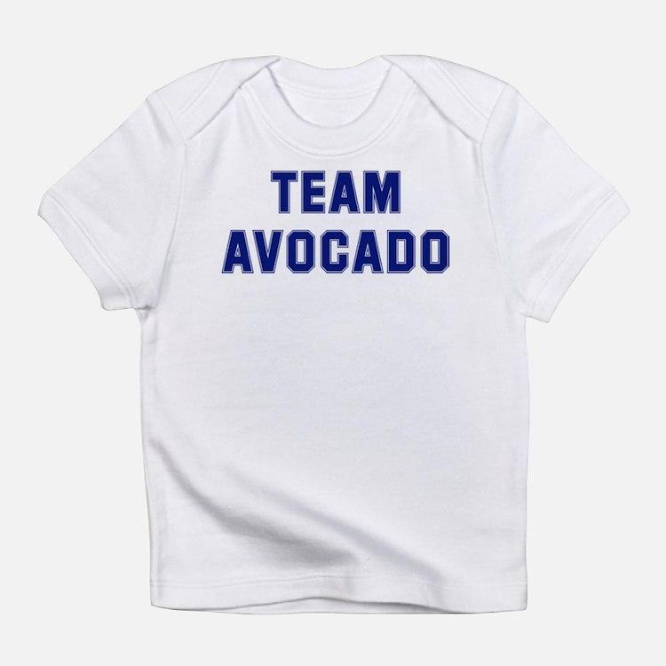 Cute Avocado design Infant T-Shirt