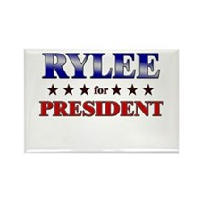 RYLEE for president Rectangle Magnet