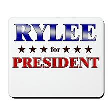 RYLEE for president Mousepad
