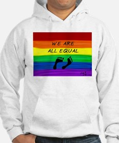 We are all equal feet Hoodie