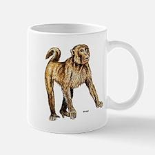 Macaque Monkey Mug