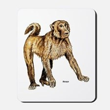 Macaque Monkey Mousepad