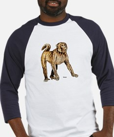 Macaque Monkey (Front) Baseball Jersey