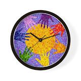 Rainbow hands Basic Clocks