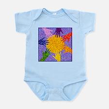 Rainbow Hands Infant Creeper